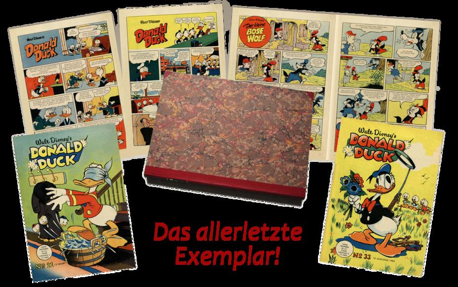 Comicselektion Unikate  Das allerletzte Exemplar!