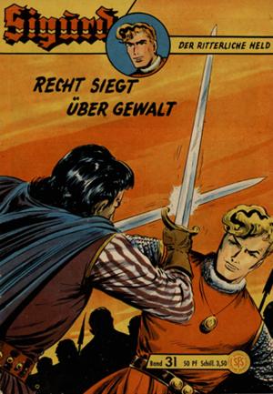 Sigurd Nr. 31 und 32 (Z 2-) = € 55,-