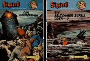Sigurd Nr. 87 (Z 1-) = € 40,-, Sigurd Nr. 146 (Z 0/Ecke) =  € 15,-