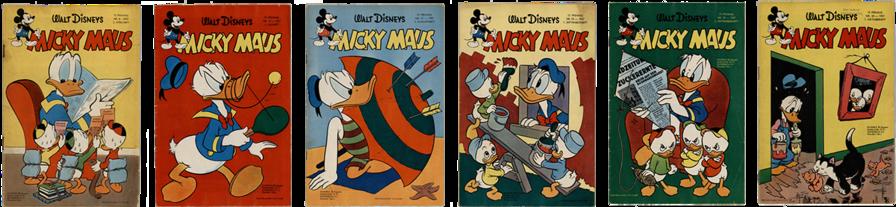 Mickay Maus Heft Nr. 8, Mickay Maus Heft Nr. 15, Mickay Maus Heft Nr. 17, Mickay Maus Heft Nr. 16, Mickay Maus Heft Nr. 18, Mickay Maus Heft Nr. 19,