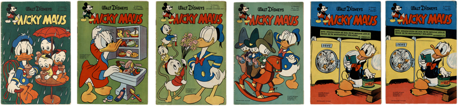 Mickay Maus Heft Nr. 11, Mickay Maus Heft Nr. 20, Mickay Maus Heft Nr. 22, Mickay Maus Heft Nr. 6, Mickay Maus Heft Nr. 7, Mickay Maus Heft Nr. 7,