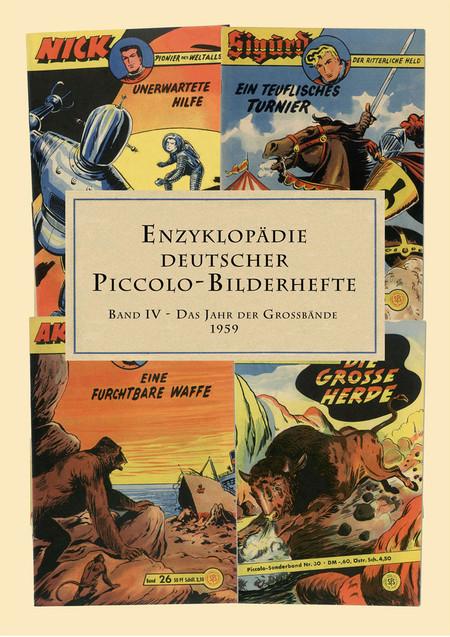 Enzyklopädie Deutscher Piccolo-Bilderhefte Band 3 - Das Jahr der Grossbände 1959