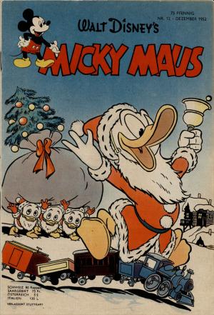 Micky Maus 1952/12  (0-1)  = €  300,-
